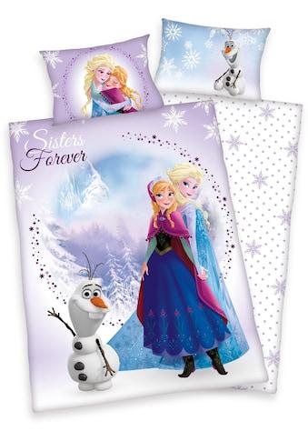 Disney Kinderbettwäsche »Frozen Sisters«, Eiskönigin kaufen