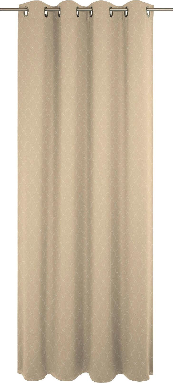 Vorhang, »Indian Cortezada Light«, Adam, Ösen 1 Stück | Heimtextilien | Natur | Baumwolle | ADAM