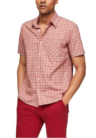 s.Oliver Kurzarmhemd, mit Brusttasche kaufen