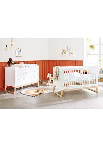 Pinolino® Babymöbel-Set »Bridge«, (Spar-Set, 2 St.), extrabreit; mit Kinderbett und... kaufen