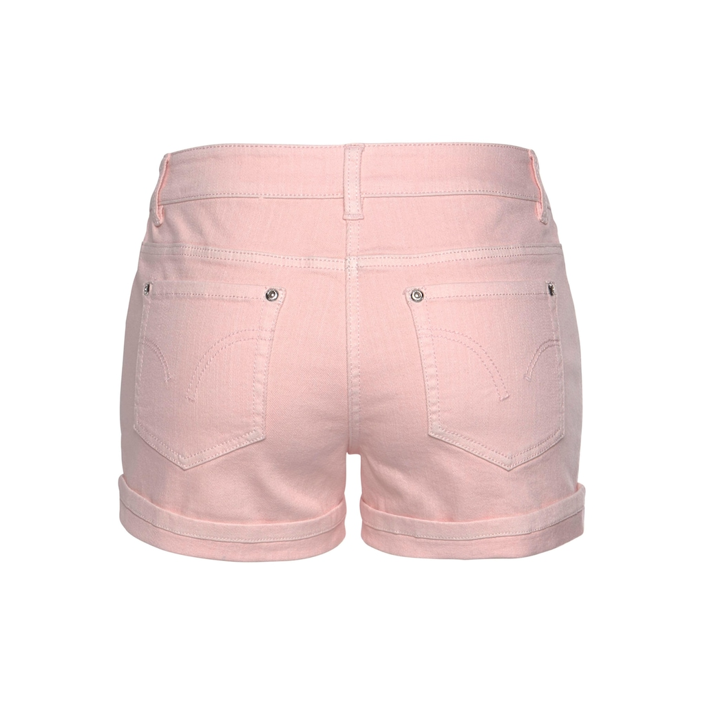 Aniston CASUAL Shorts, in pastelliger Farbpalette