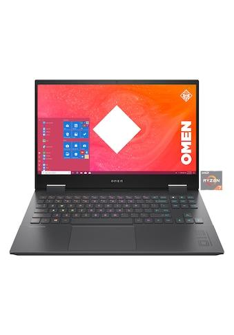 """OMEN Gaming-Notebook »15-en0261ng«, (39,6 cm/15,6 """" AMD Ryzen 7 GeForce\r\n 0 GB HDD 512 GB SSD), 39,6 cm (15,6"""") AMD Ryzen 7,512 GB, 16 GB kaufen"""