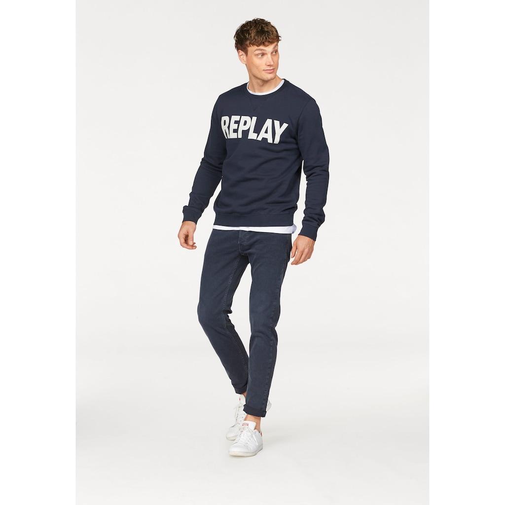 Replay Sweatshirt, Markenprint