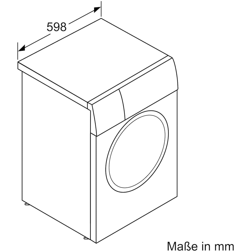 BOSCH Waschmaschine »WAJ280V2«, 2, WAJ280V2, 7 kg, 1400 U/min