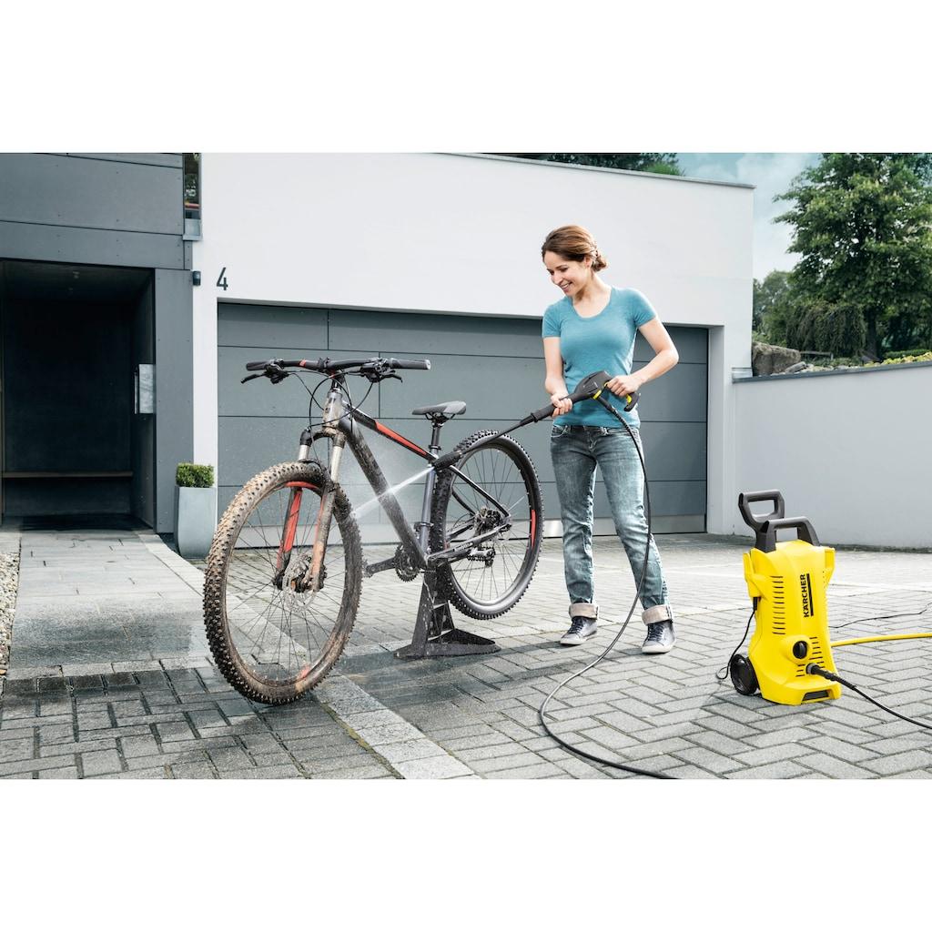 KÄRCHER Hochdruckreiniger »K 2 Power Control Home«, für die Reinigung von z.B. Fahrrädern, Gartenwerkzeugen oder Gartenmöbeln inkl. Home Kit