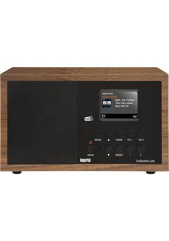 IMPERIAL »DABMAN d35« Digitalradio (DAB+) (Digitalradio (DAB+), 5 Watt) kaufen