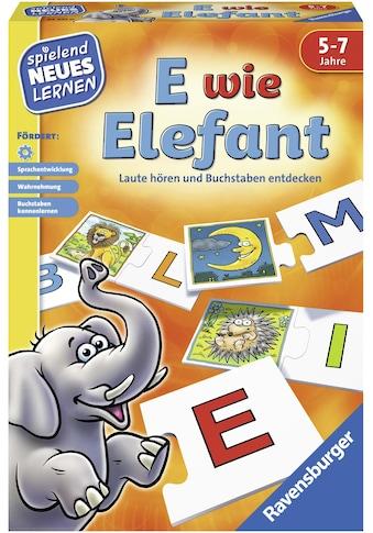 Ravensburger Spiel »E wie Elefant«, Made in Europe, FSC® - schützt Wald - weltweit kaufen