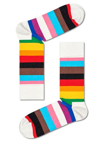Happy Socks Socken »Pride Stripe«, mit farbigen Streifen kaufen