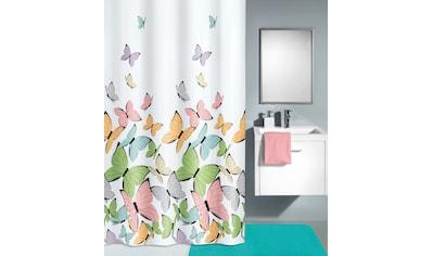 Kleine Wolke Duschvorhang »Butterflies«, Breite 120 cm, (1 tlg.), Höhe 180 cm kaufen