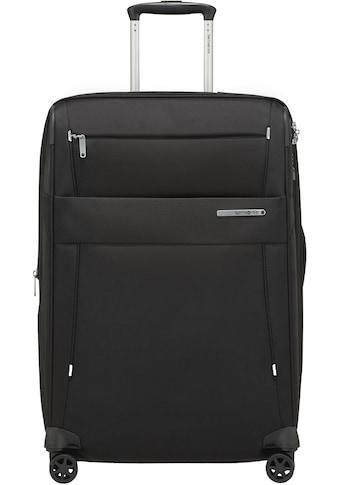 Samsonite Weichgepäck-Trolley »Duopack, 67 cm, black«, 4 Rollen kaufen