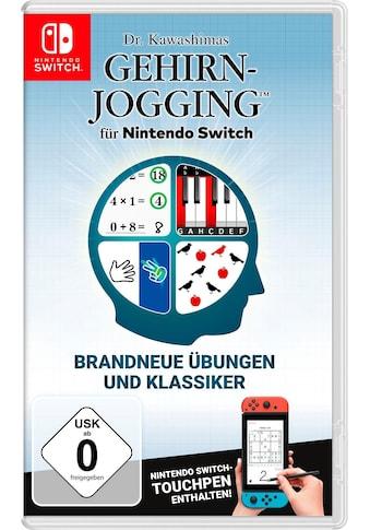 Nintendo Switch Spiel »Dr. Kawashimas Gehirn-Jogging«, Nintendo Switch kaufen
