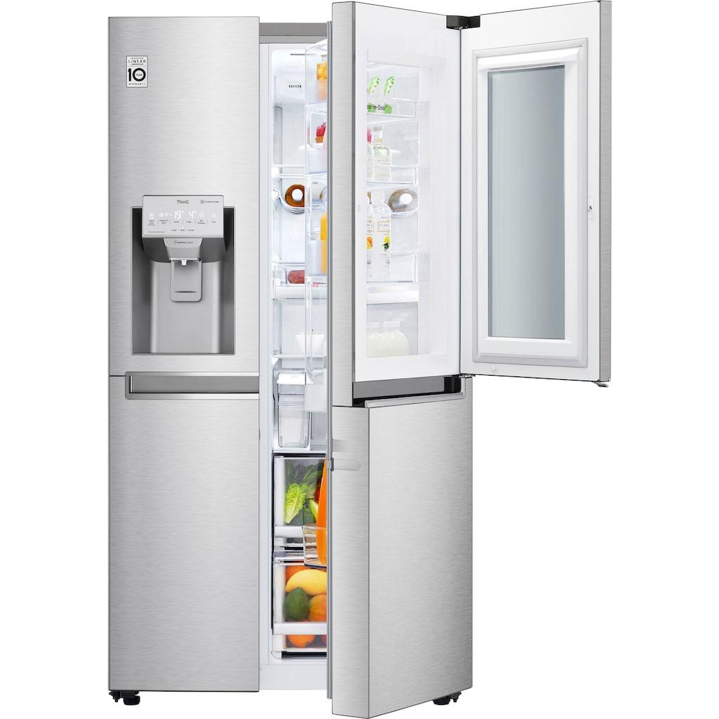 LG Side-by-Side »GSX961NEVZ«, 9, Door-in-Door
