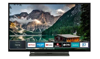 Toshiba LED - Fernseher (32 Zoll, HD - Ready, Triple - Tuner, Smart TV) »32WL3A63DA« kaufen