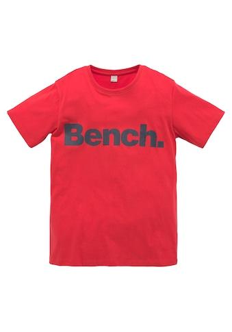 Bench. T-Shirt, mit Druck auf dem Vorderteil kaufen