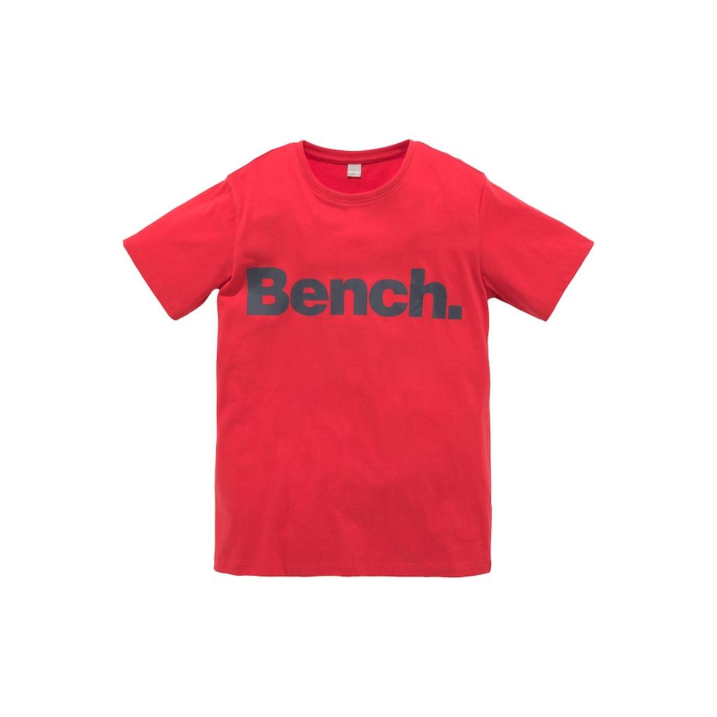 Bench. T-Shirt, mit Druck auf dem Vorderteil