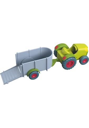"""Haba Spielzeug - Traktor """"Little Friends  -  Traktor mit Anhänger"""" kaufen"""