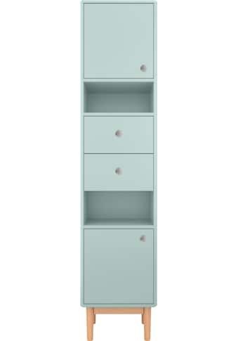TOM TAILOR Hochschrank »COLOR BATH«, mit 2 Türen & 2 Schubladen, mit Push-to-Open, mit... kaufen