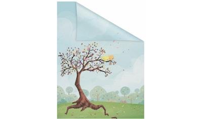 Fensterfolie, »Märchenbaum«, LICHTBLICK, blickdicht, strukturiert kaufen