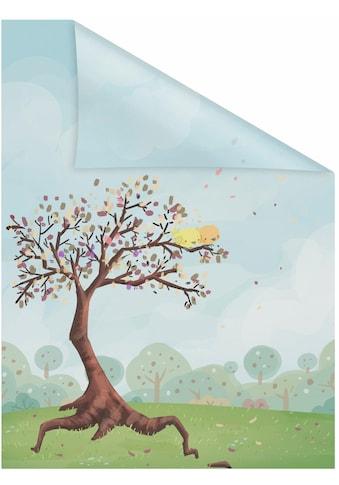 LICHTBLICK ORIGINAL Fensterfolie »Märchenbaum«, 1 St., blickdicht,... kaufen