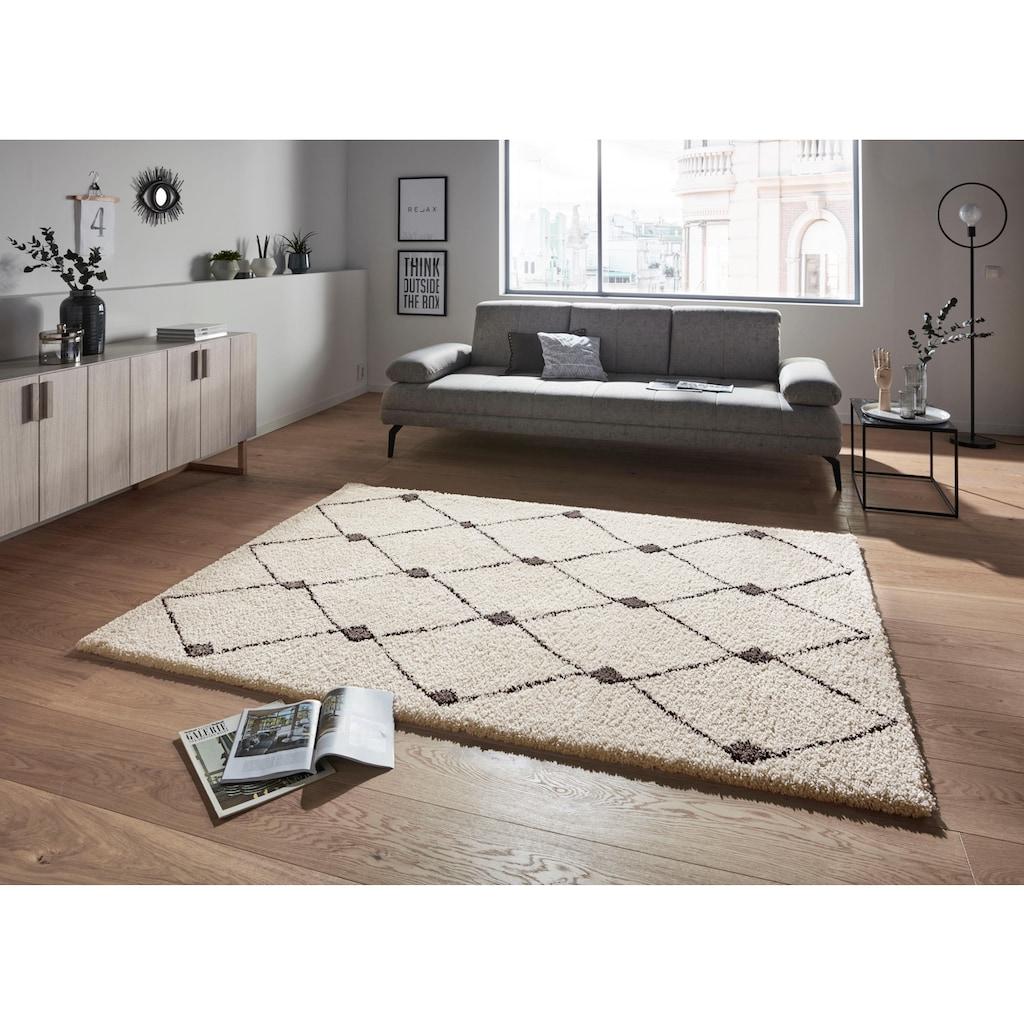 MINT RUGS Hochflor-Teppich »Create«, rechteckig, 35 mm Höhe, besonders weich durch Microfaser