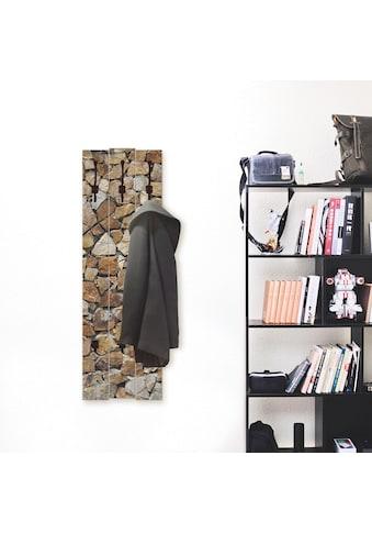 Artland Garderobenpaneel »Braune Steinwand« kaufen