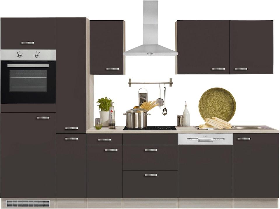 Optifit Küchenzeile Ohne E Geräte Faro Breite 300 Cm Auf Rechnung