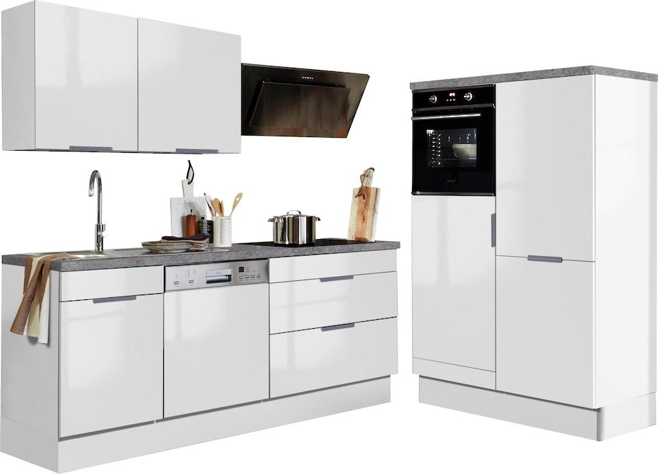 Optifit Küchenzeile Ohne E Geräte Tara Breite 320 Cm Auf Raten