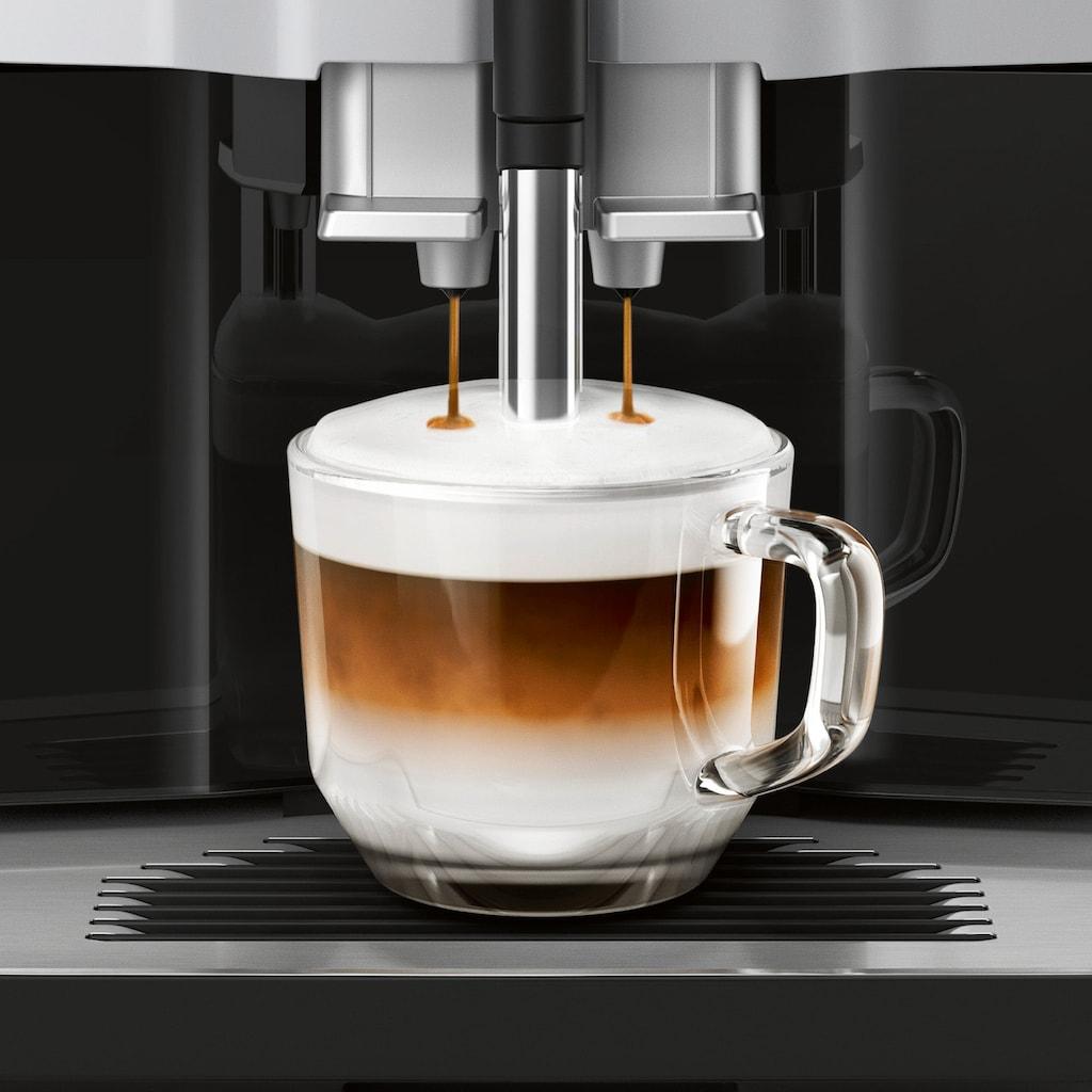 SIEMENS Kaffeevollautomat »EQ.300 TI353514DE«, einfache Zubereitung mit oneTouch Funktion, 5 Kaffee-Milch-Getränke, LCD-Dialog-Display, champagner
