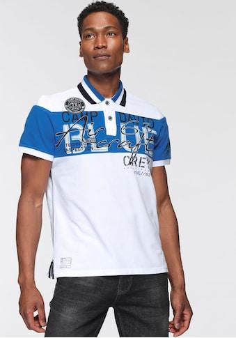CAMP DAVID Poloshirt, mit Logoschriftzügen kaufen