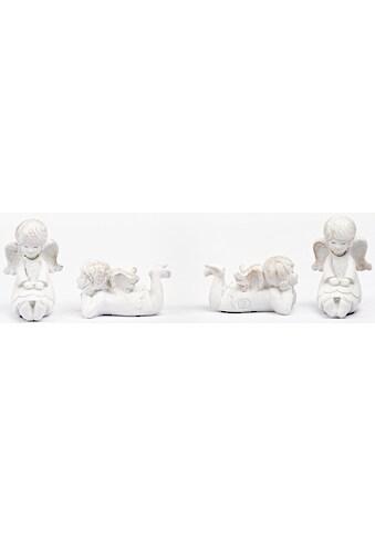 Fabriano Engelfigur »Elisa« (Set, 4 Stück, 2x sitzend und 2x liegend) kaufen