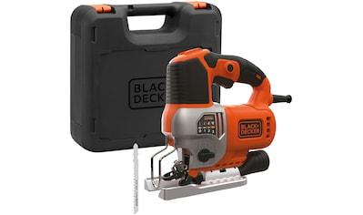 Black + Decker Pendelhubstichsäge, 650 W, elektrisch kaufen