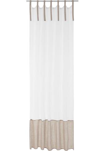 Bindegardine, »LINEN«, 170QM, Bindebänder 1 Stück kaufen