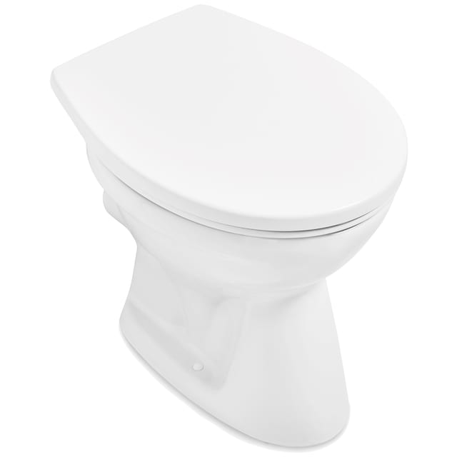 VILLEROY & BOCH Tiefspül-WC »O.novo«, bodenstehend, Weiß Alpin