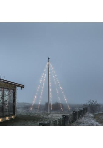 KONSTSMIDE LED-Lichtervorhang, 500 St.-flammig, LED Fahnenmastbeleuchtung mit Ring, 5... kaufen