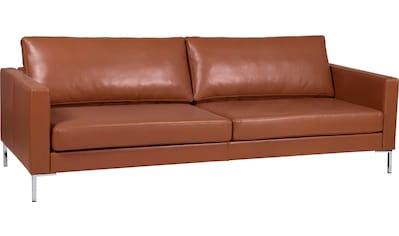 Alte Gerberei 3-Sitzer »Velina«, mit Metall-Winkelfüßen kaufen