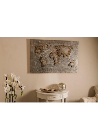 Myflair Möbel & Accessoires Leinwandbild, mit Metall kaufen