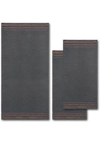 Dyckhoff Handtuch Set »Delta«, mit Metallikgarn-Effekten kaufen