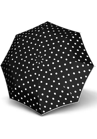 Knirps® Taschenregenschirm »T.200 Medium Duomatic, Dot Art Black« kaufen