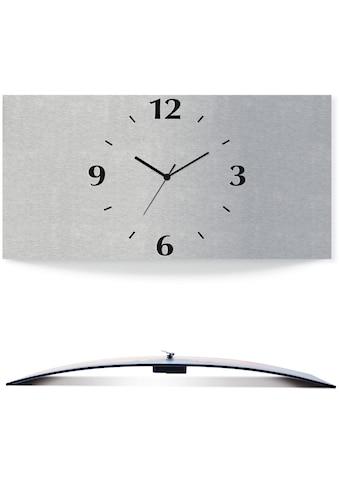 Artland Wanduhr »Silbernes Design« kaufen