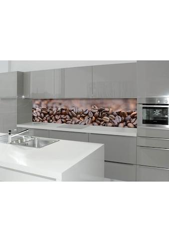 Küchenrückwand  -  Spritzschutz »profix«, Kafeebohnen, 220x60 cm kaufen