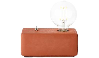 Brilliant Leuchten Wilona Tischleuchte terracotta kaufen