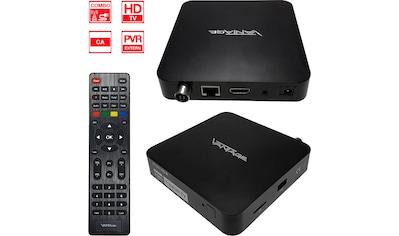Vantage DVB-T2 Receiver »VT-96 U HDTV Kabel + DVB-T2 Receiver mit IR-Auge«, (LAN... kaufen