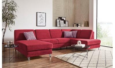 sit&more Wohnlandschaft »Clio V«, wahlweise mit Bettfunktion und Bettkasten, inklusive... kaufen