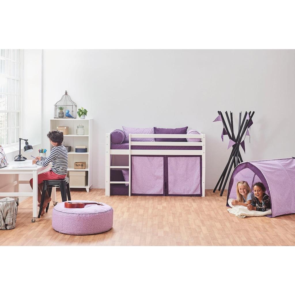 Hoppekids Hochbett »Beautiful Bloom«, (Set), umbaubar in ein Einzelbett