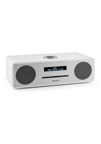 Auna Mini Stereo Wecker DAB CD Radio DAB+ Bluetooth USB MP3 AUX UKW »Stanford« kaufen