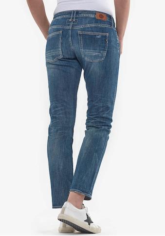 Le Temps Des Cerises Slim-fit-Jeans »SEA«, im Used-Look kaufen