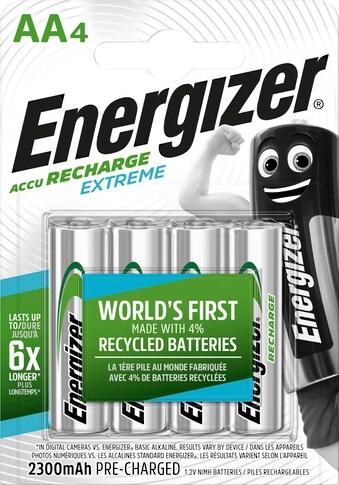 Energizer »Akku Recharge Extreme AA 4x 2300 mAh« Batterie kaufen