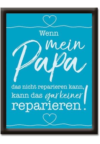 Artland Wandbild »Mein Papa«, Sprüche & Texte, (1 St.) kaufen