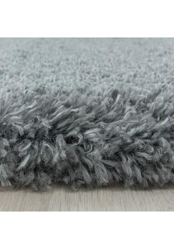 Ayyildiz Hochflor-Teppich »FLUFFY 3500«, rund, 50 mm Höhe kaufen