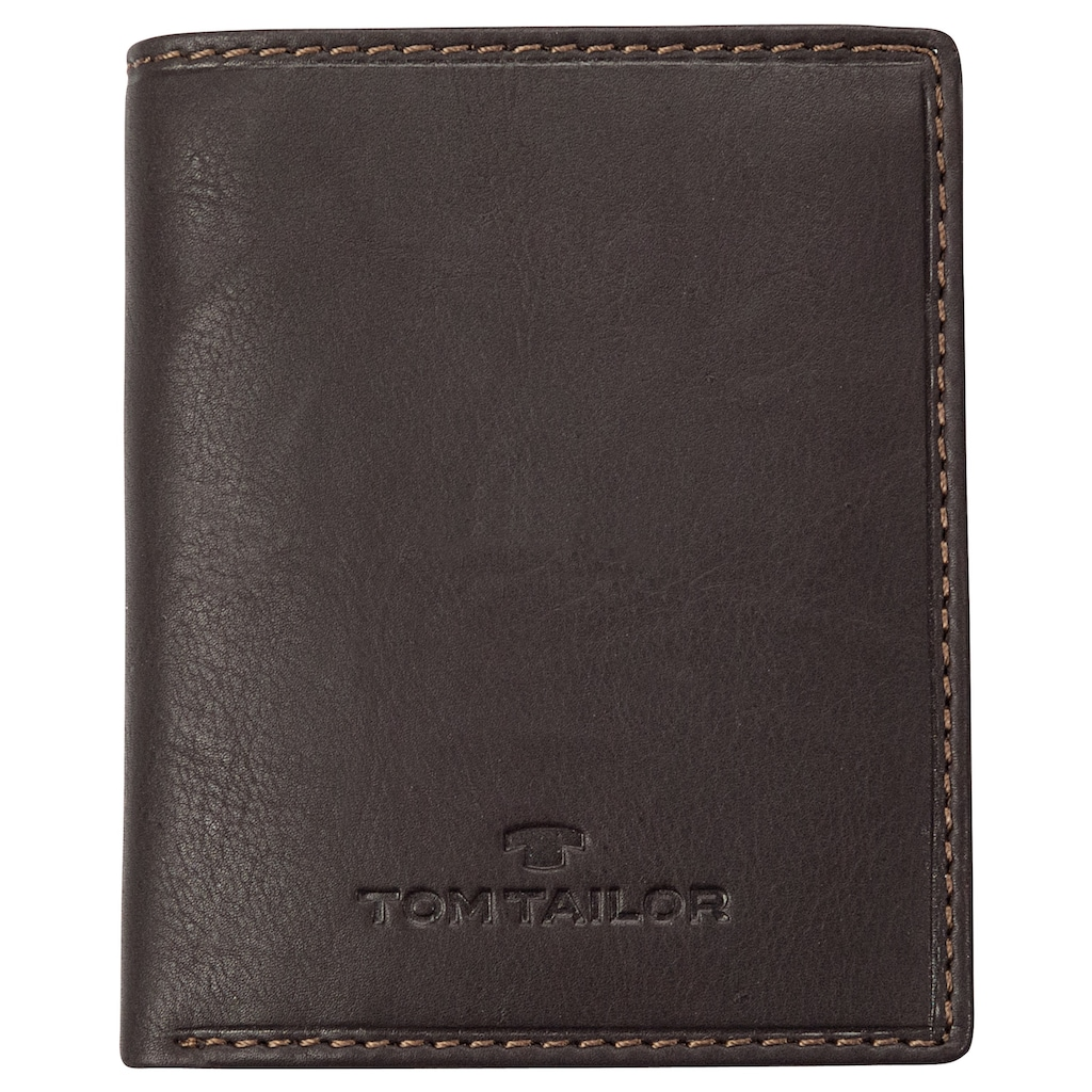 TOM TAILOR Geldbörse »LARY«, im sportiv gestepptem Design